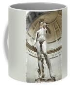 David By Michelangelo Pencil Coffee Mug