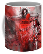 David Lee Roth And Eddie Van Halen Jump Coffee Mug