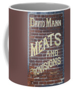 David Mann - Meats And Provisions Coffee Mug