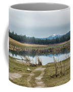 Davis Creek And Maiden Peak Coffee Mug