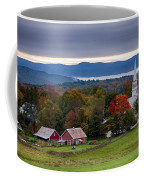 dawn arrives at sleepy Peacham Vermont Coffee Mug