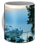Dawn At Bay Colony Coffee Mug