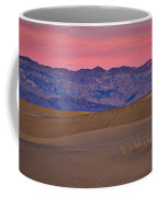Dawn At Mesquite Flat #3 - Death Valley Coffee Mug