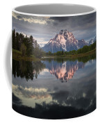 Dawn At Oxbow Bend Coffee Mug