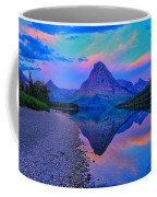 Dawn At Two Medicine Lake Coffee Mug by Greg Norrell