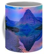 Dawn At Two Medicine Lake Coffee Mug