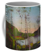 Dawn By The Pond Coffee Mug