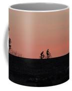 Dawn Cyclists Coffee Mug