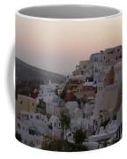 Dawn In Oia Santorini Greece Coffee Mug