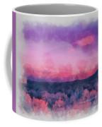 Dawn In Taos In Aquarelle Coffee Mug