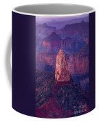 Dawn Mount Hayden Point Imperial North Rim Grand Canyon National Park Arizona Coffee Mug by Dave Welling
