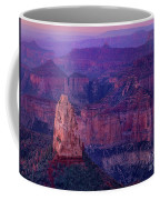 Dawn Mount Hayden Sunrise North Rim Grand Canyon Arizona Coffee Mug by Dave Welling