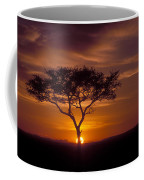 Dawn On The Masai Mara Coffee Mug