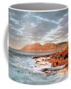Dawn Over Simons Town South Africa Coffee Mug