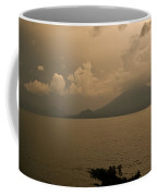 Dawn Over The Volcano Coffee Mug