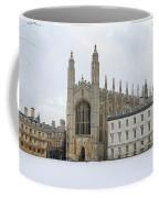 Dawn Sunshine Hit Kings College Chapel On Christmas Eve. Coffee Mug