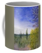 Day In Arizona Desert Coffee Mug