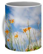 Day Lilies Look To The Sky Coffee Mug