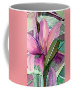 Day Lily Pink Coffee Mug