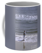 Day Of Ocean Fishing Coffee Mug