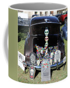 Day Of The Dead Classic Car Trunk Display  Coffee Mug