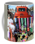 Day Of The Dead Truck Decorations  Coffee Mug
