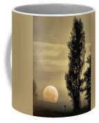 Daybreak On A Country Road Coffee Mug