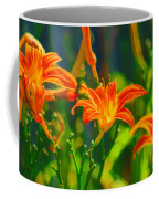 Daylily Trio Coffee Mug
