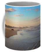 Daytona Beach At Sunset, Florida Coffee Mug