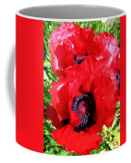 Dazzling Red Poppies Coffee Mug