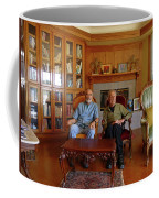 Db6362 Ed Cooper With Fred Beckey In Library 2013 Coffee Mug