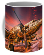 Dc-3 In Surreal Evening Light Coffee Mug
