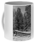 Ddp Djd B And W 1880's Cabin Ruins In Montana 3 Coffee Mug