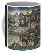 De Bry: New World Coffee Mug