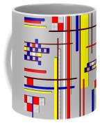 De Stijl Love Coffee Mug