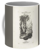 De Wereld, Jeremias Wachsmuth, After Gottfried Eichler II, C. 1758 - C. 1760 Coffee Mug