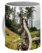 Dead Tree At Ecola Park Coffee Mug