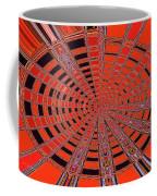 Dead Tree Oval #1 Abstract Coffee Mug