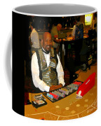 Dealer In Las Vegas Casino Coffee Mug