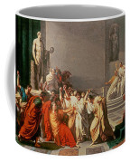Death Of Julius Caesar Coffee Mug