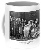 Death Of President Lincoln Coffee Mug