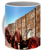 Death Valley Borax Wagons Coffee Mug