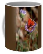 Death Valley Butterfly Coffee Mug