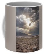 Death Valley Sun Burst Coffee Mug