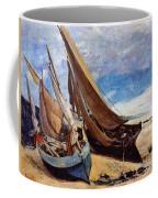 Deauville Beach 1866 Coffee Mug