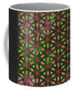 Decadent Urban Orange Green Patterned Abstract Design Coffee Mug