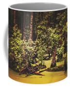 Decayed Vegetation - Run Swamp, North Carolina Coffee Mug