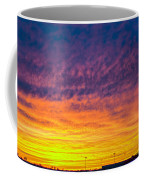 December Nebraska Sunset 003 Coffee Mug