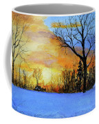 December Sunset Coffee Mug