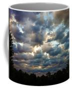 Deceptive Clouds Coffee Mug by Cricket Hackmann